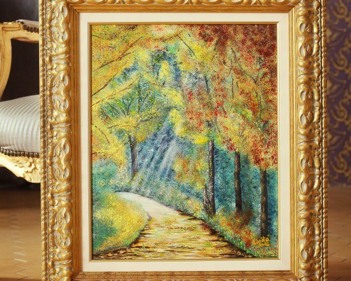 God's light on the Golden Path